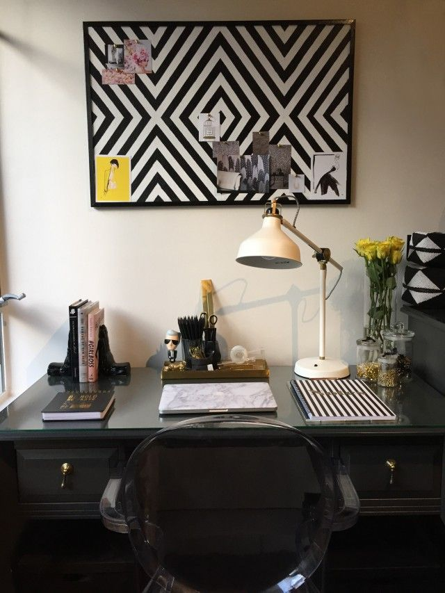 How to: make an inspiration board for your home office