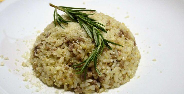 La ricetta originale del risotto al tastasal