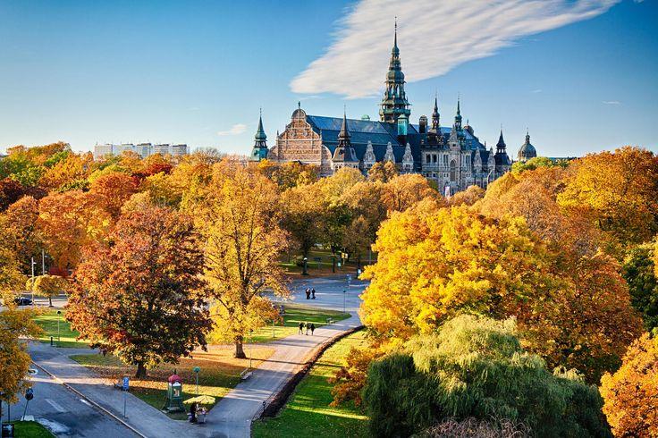 Nordiska Museet in autumn. by Viacheslav Savitskiy on 500px