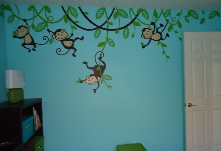 Monkey room and i love the color