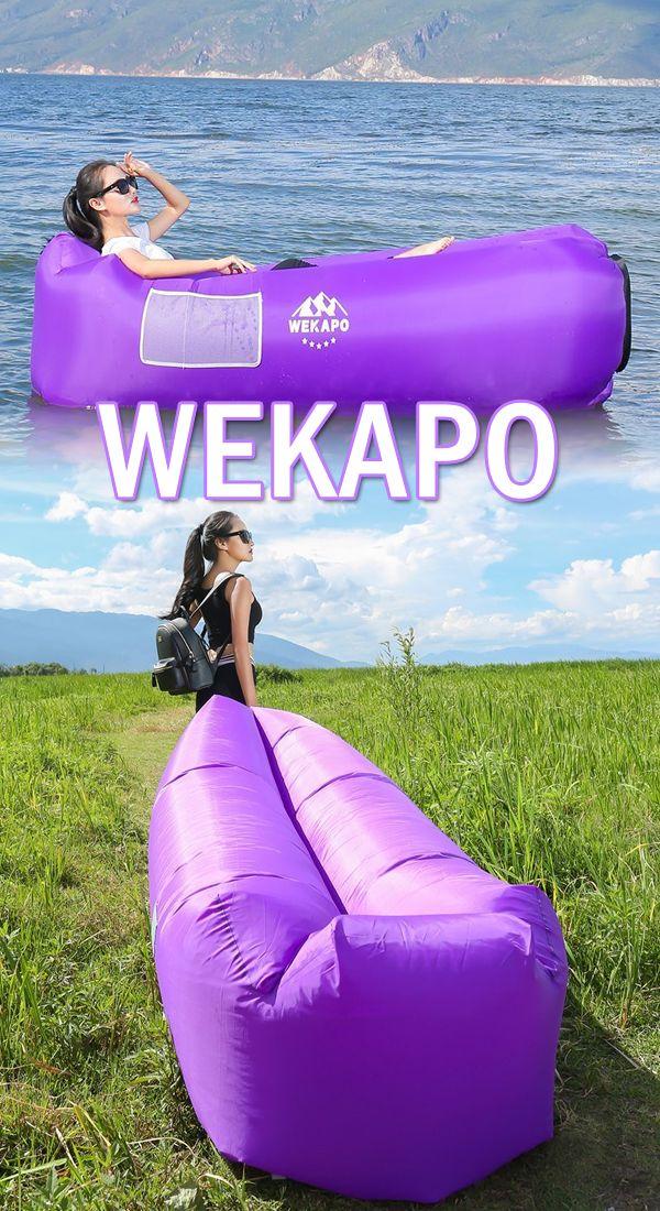 WEKAPO Inflatable Lounger Air Sofa HammockPortable,Water