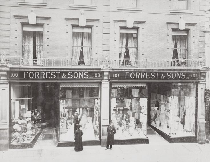 Forrest & Sons clothing store, 100-101 Grafton Street, reconstructed in 1905-1907.