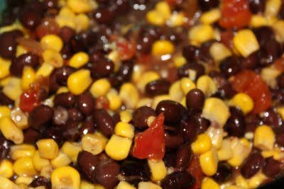 Black Bean and Corn Relish - a nice, healthy side dish