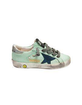 GOLDEN GOOSE DELUXE BRAND Unisex Mint Green - Navy Star Sneakers. Shop here: http://www.tilltwelve.com/en/eur/product/1064450/GOLDEN-GOOSE-DELUXE-BRAND-Unisex-Mint-Green-Navy-Star-Sneakers/