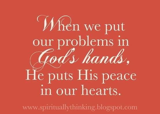 Peace in our ♡ hearts.: Inspiration, Heart, Quotes, Faith, Truth, Peace, Gods Hands