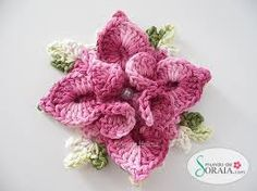 grafico de centro de mesa de crochet com flores - Pesquisa Google