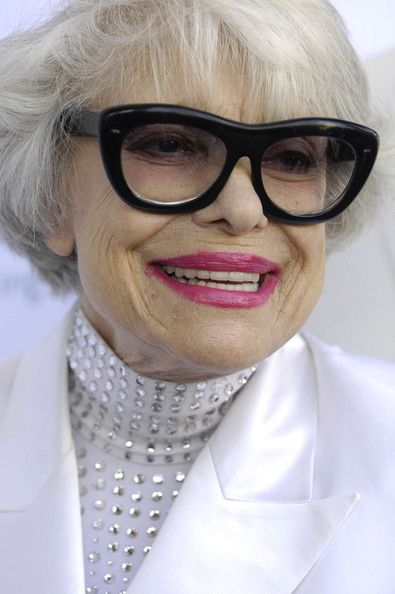 Carol Channing ... killing it w/ those glasses :)