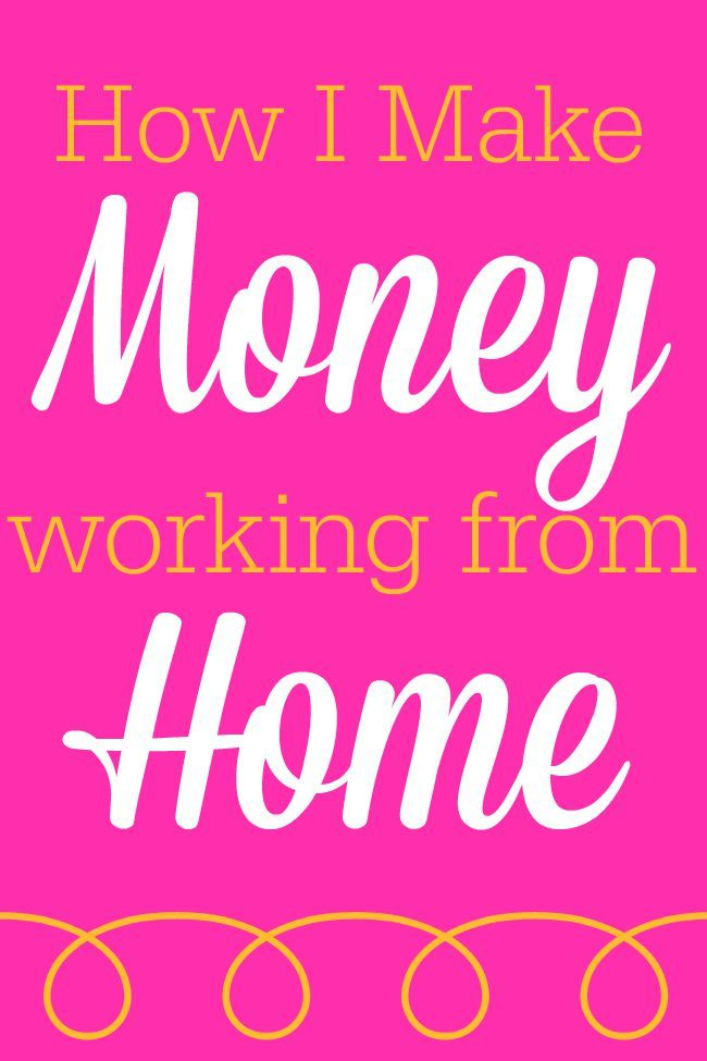 How I Make Money Working from Home - And you can, too! Click now to find out how!