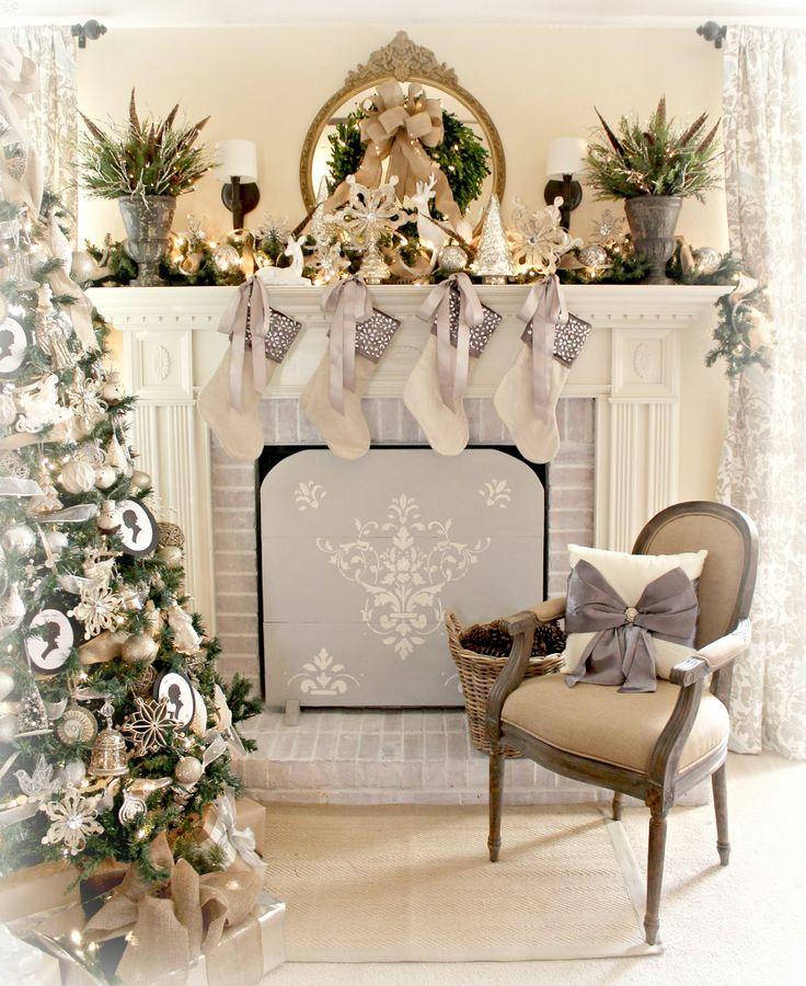 The Fancy Shack: Christmas Mantel