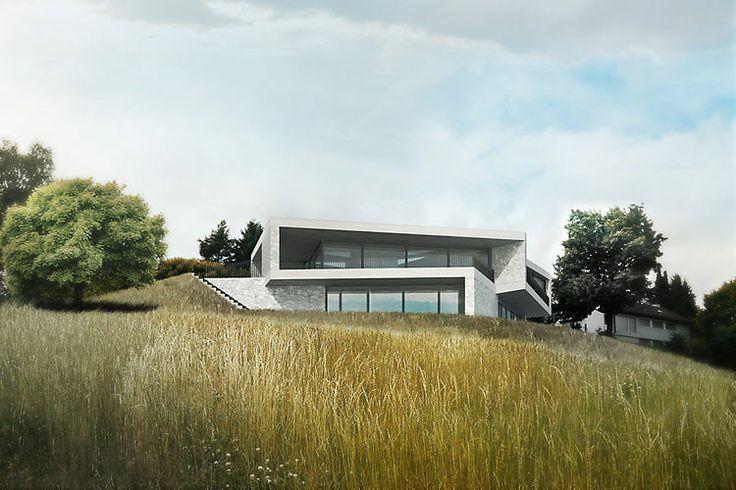 Wild b r heule architekten ag exteriors pinterest for Ma maison minimaliste