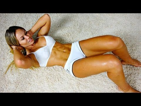 Killer 7 Min Ripped Abs Workout -- For Women and Men - YouTube