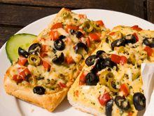 Recept ciabatta à la pizza