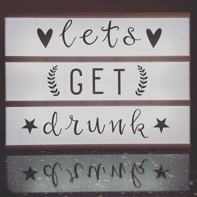 The perfect b-day gift voor my sister in law <3 #birthday #letsgetdrunk…
