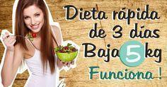 Descubre una dieta para depurar el organismo y perder hasta 5 kilos en poco tiempo.