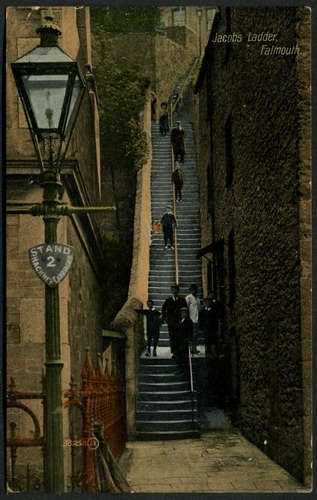 JACOB'S LADDER (1912) | Falmouth, Cornwall     ✫ღ⊰n