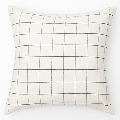 A pillow grid. Keep it simple or layer with color.