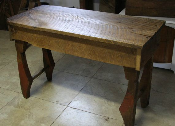 Reclaimed Barn Wood Side Table. Roof By ScarredHandsCreation, $240.00. Shadow  Box Coffee TableWindow ShadowWood Side ...