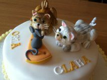 Cats and mouse cake