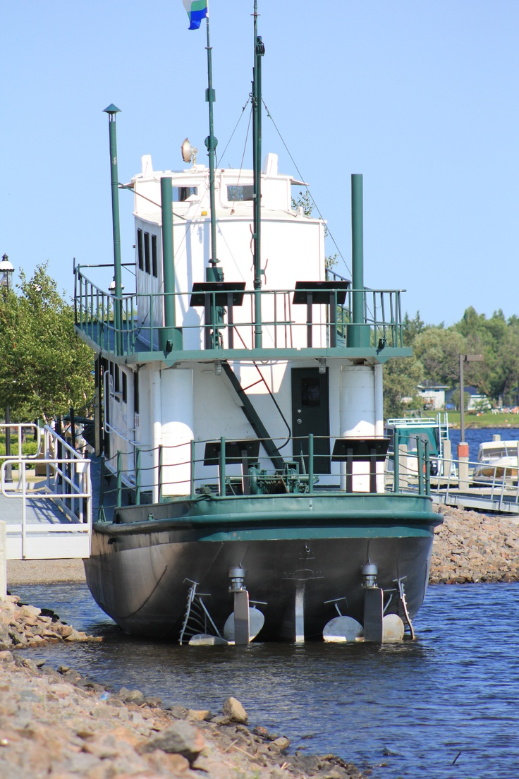 The Hallett. Fort Frances, Ontario, Canada