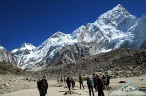 Superior temperature, weather and climate make Everest base camp trek in May a lifetime trip