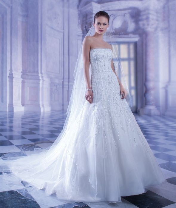 114 best Demetrios Wedding Dresses images on Pinterest | Wedding ...