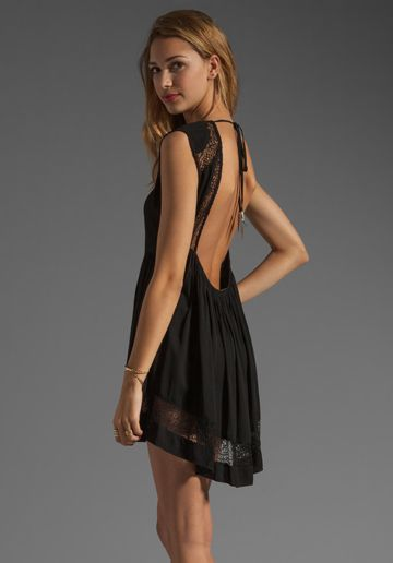 $150.00BLESS'ED ARE THE MEEK Epiphany Dress in Black at Revolve Clothing - Free Shipping!