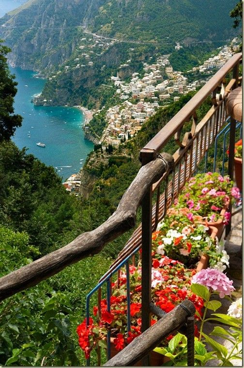 Arguably the most beautiful place in Italy, the Amalfi Coast!