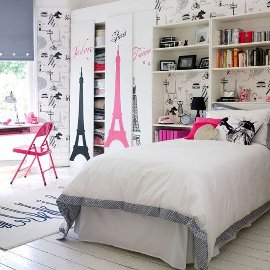 teen bedrooms for girls | Teenage girl's bedroom | Transform a teenage girl's bedroom in 5 steps ...