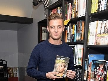 "5,592 Likes, 71 Comments - Robbie Rogers (@robbierogers) on Instagram: ""I can't believe it's been 5 years since Eric and I sat in my apartment in West Hollywood and worked on my book ""Coming Out To Play"" which the title was given to us by a cab driver in Leeds! It's been an amazing rollercoaster. I hope everyone who read the book loved it as much as Eric and I loved working on it together! xRR""  -  7-February-2018"