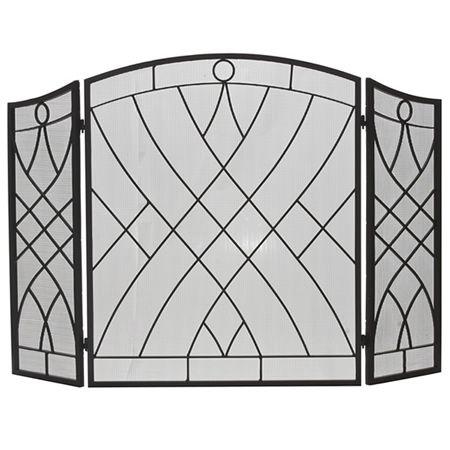 black iron fireplace screen. Three Fold Weave Black Wrought Iron Fireplace Screen 118 best Screens images on Pinterest  screens