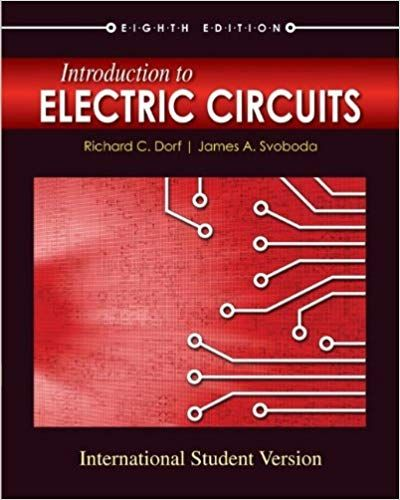 solution manual for title introduction to electric circuitssolution manual for title introduction to electric circuits edition author(s)