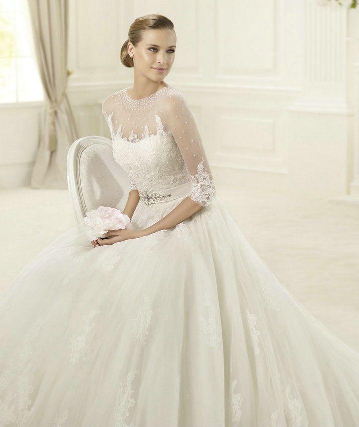 107 best Wedding gowns images on Pinterest Wedding dressses