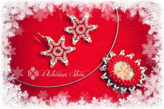 Snowflake set, christmas set