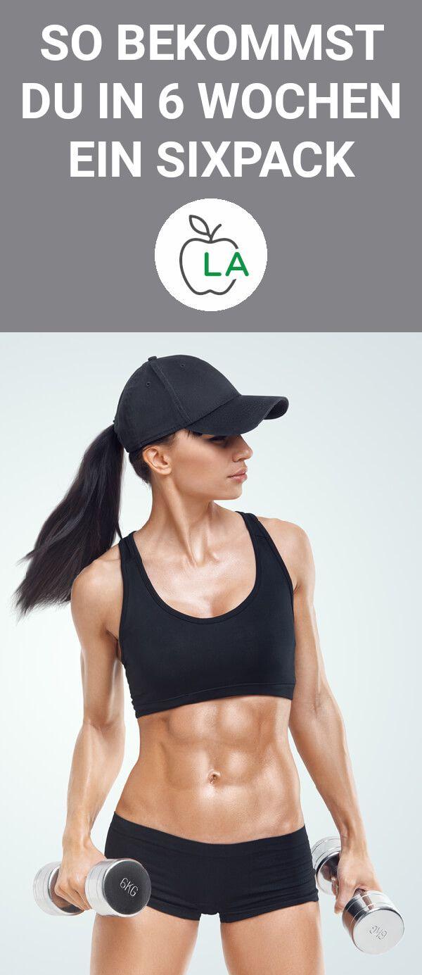 Sixpack Guide für Frauen und Männer – Mit Trainingsplan und Ernährungsplan – Fitness