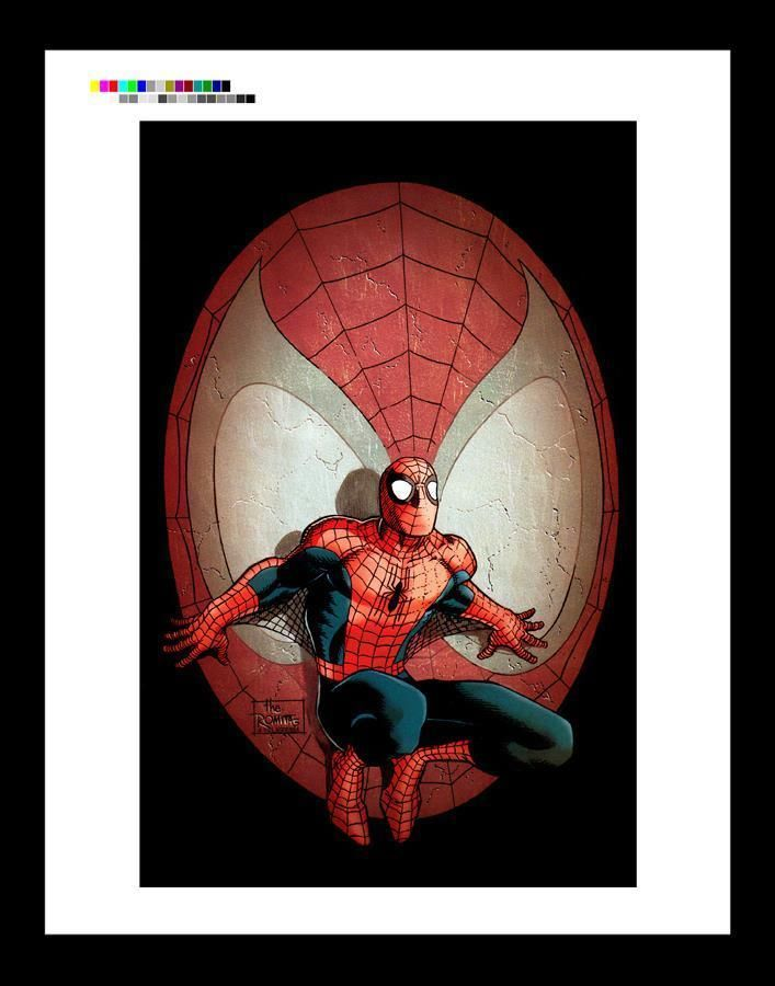 John Romita Jr  Amazing Spider-Man #1 Rare Production Art