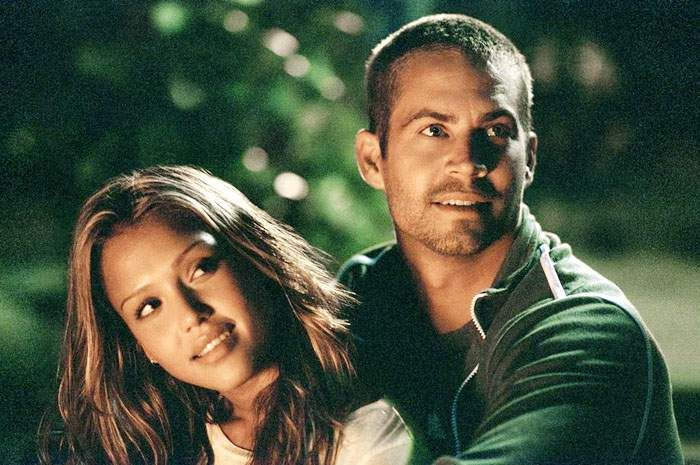 Jessica Alba and Paul Walker in Into the Blue