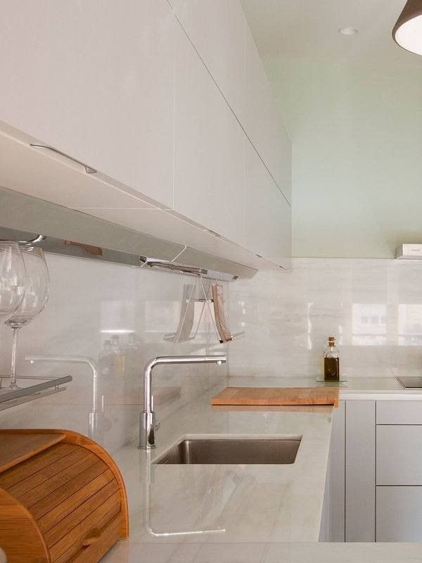 Color Gris Perla Cocinas Modernas Blancas Fresco Inspirado De 100 Fotos De Decoracic2b3n De Decoracion De Cocina Decoracion De Cocina Moderna Cocinas Modernas