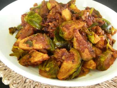Brussel Sprouts 'Subzi'