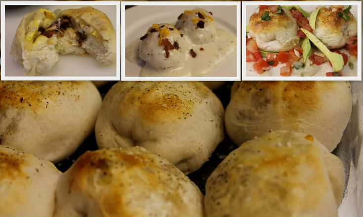 *Riches to Rags* by Dori: Stuffed Breakfast Bubble Biscuits