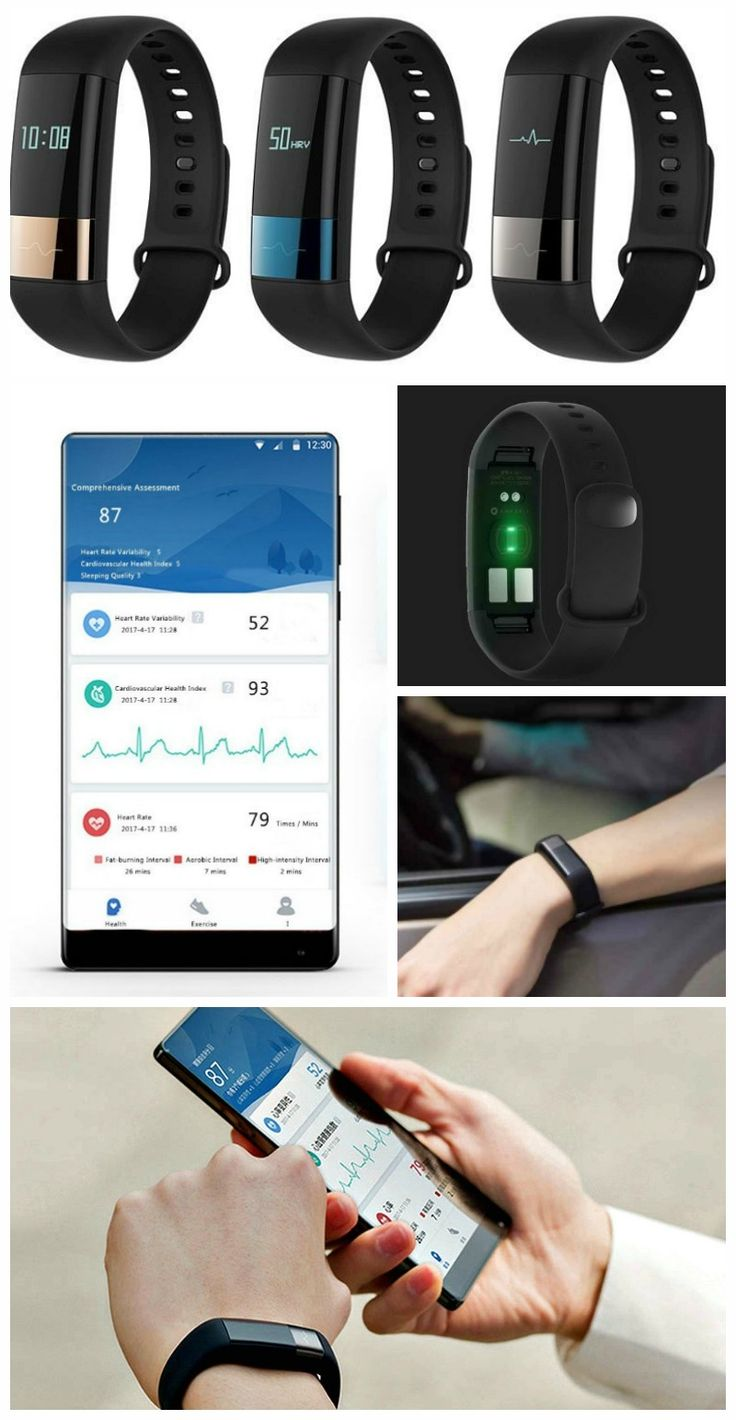 The Amazfit Fitness Smartband comes with a wide array of sensors including an ECG sensor and a PPG photoelectric sensor for accurate heart rate detection.