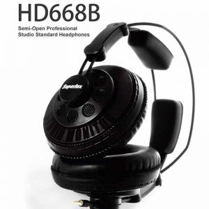 Wired Headphones Semi-open Dynamic Professional Studio Monitoring