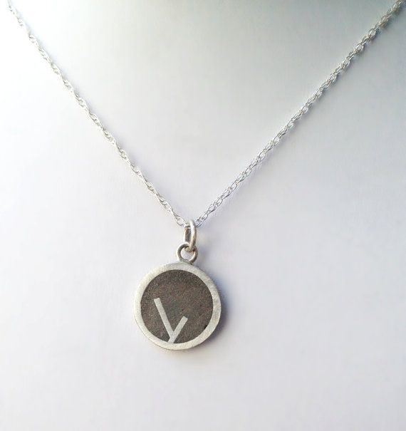 Sterling Silver and Concrete Pendant