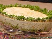 Cacarola de arroz e brócolis