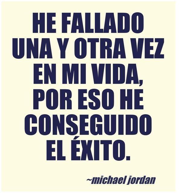 A cada fracaso, hay que levantarse y seguir adelante.  www.marcaglobal.es