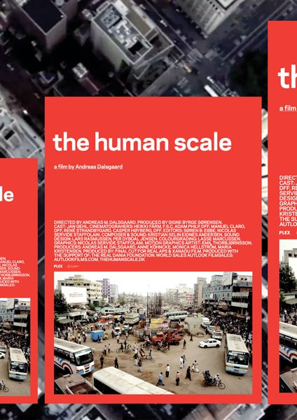 Mads Jakob Poulsen – Poster for the Documentary The Human Scale by Andreas Dalsgaard