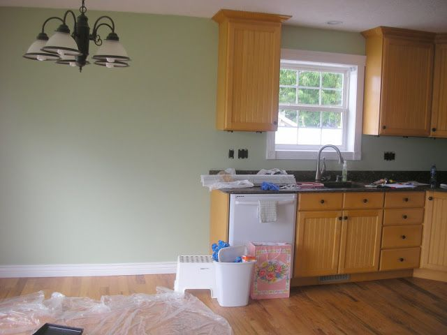 Paint Color To Go With Oak Cabinets Kitchen Ideas