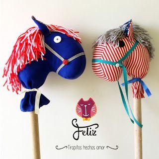 #caballos de palo #caballosdepalo #caballosdetrapo #toys #handmade