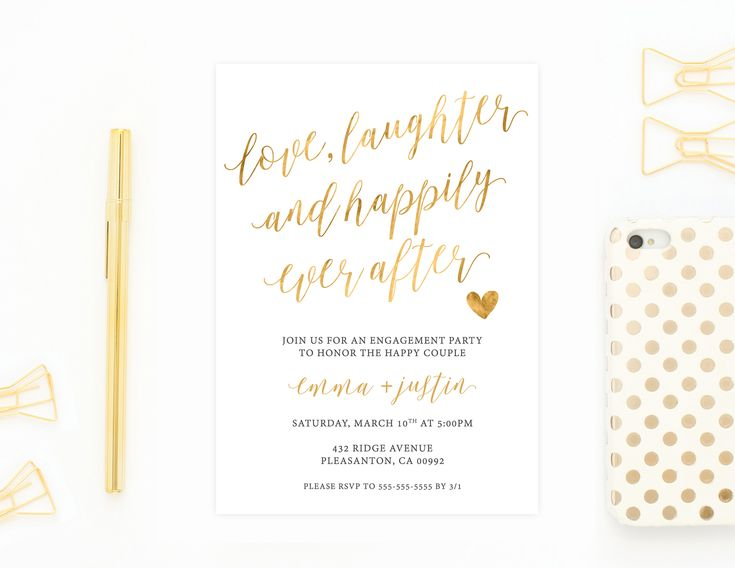 Best 25+ Diy engagement party invitations ideas on Pinterest DIY - engagement invite templates