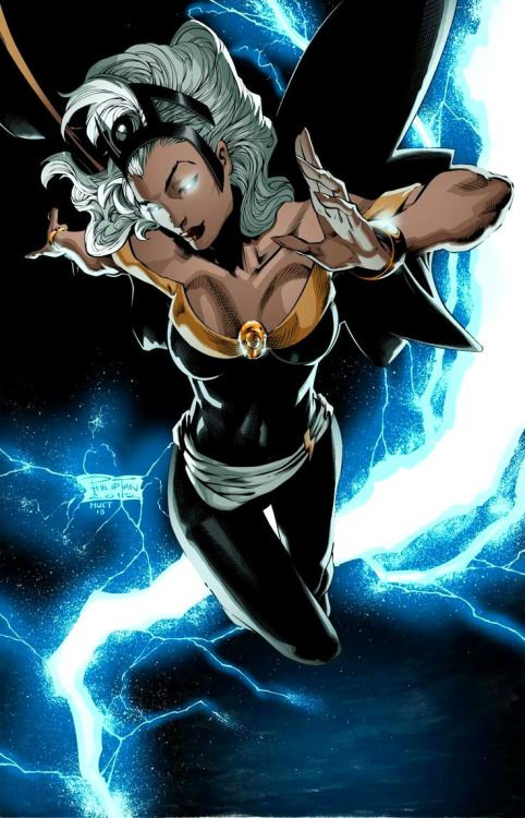 "thebestofwomenincomics: "" Ororo Munroe, a.k.a. Storm. by Philip Tan """