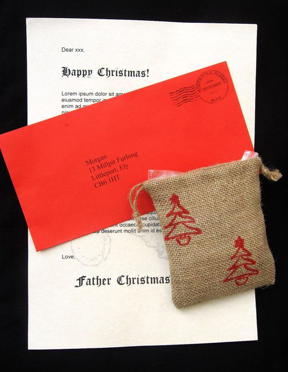 Best 25 Father christmas letters ideas on Pinterest  Letter to